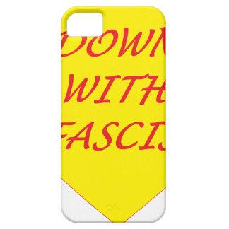 Para baixo com fascismo capa barely there para iPhone 5