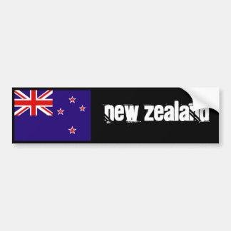 Pára-choque 2 da bandeira de Nova Zelândia Adesivos