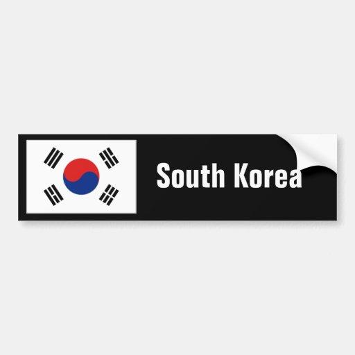 Pára-choque de Coreia do Sul Adesivo Para Carro