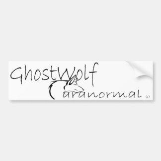 Pára-choque de GhostWolf Adesivo De Para-choque