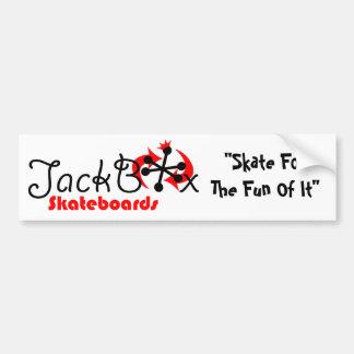 Pára-choque de JackBox Adesivo Para Carro