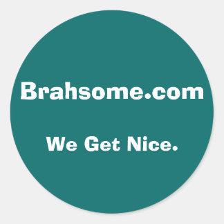 Pára-choque menor de Brahsome Adesivo