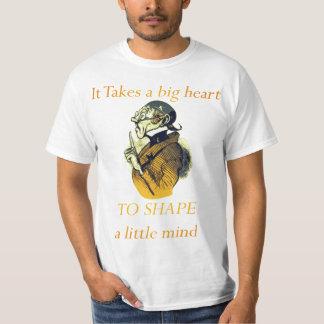 PARA DAR FORMA a uma mente pequena Camiseta