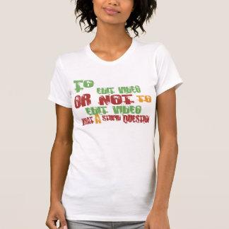 Para editar o vídeo t-shirt