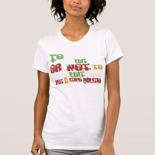 Para editar tshirts
