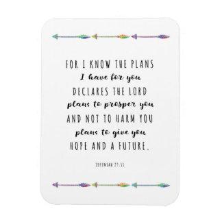 Para eu sei os planos que eu tenho para você o ímã