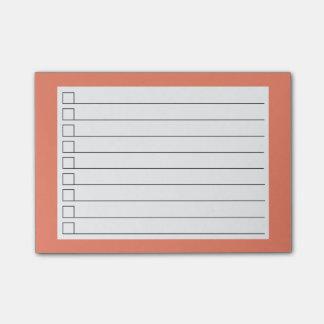Para fazer sticky notes