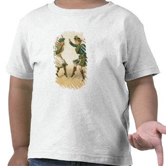 Para Lang Auld Syne - um Feliz Natal direito Tshirts