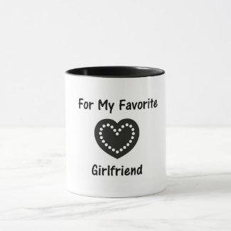Para minha caneca favorita do namorada