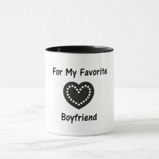 Para minha caneca favorita do namorado