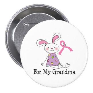 Para minha consciência do cancro da mama da avó bóton redondo 7.62cm