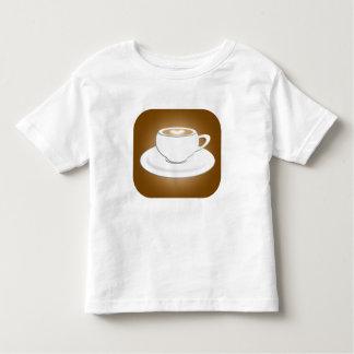 Para miúdos do Cappuccino Camiseta Infantil