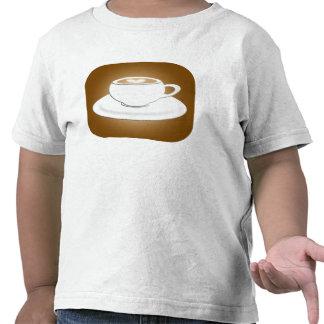 Para miúdos do Cappuccino Camisetas