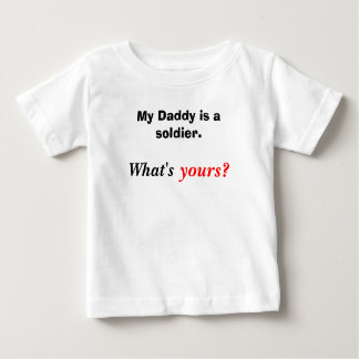 Para miúdos do exército t-shirt