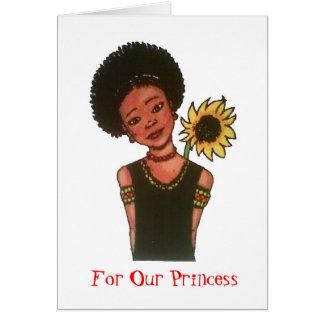 Para nossa princesa cartão
