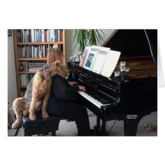 Para o amor da música (Maddie ama a música!) Cartão Comemorativo