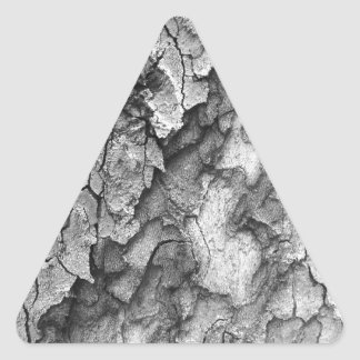 Para o amor da natureza - latido do preto & do adesivo triangular