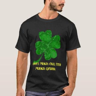 Para o bebado de quatro folhas camiseta