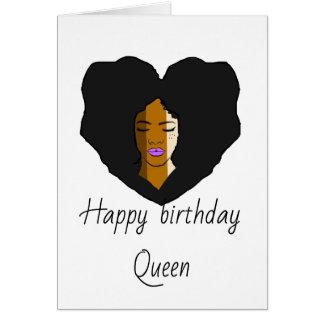 Para o cartão de aniversário unido