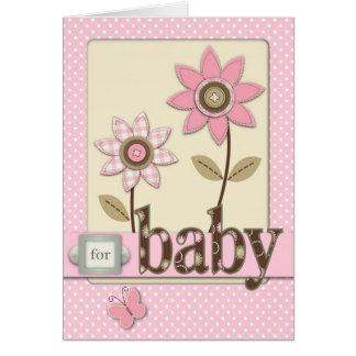Para o cartão do bebé
