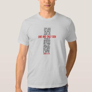 Para o deus amado assim o t-shirt do mundo