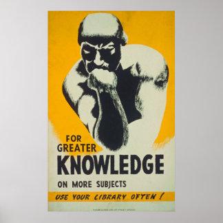 Para o maior conhecimento em mais poster dos