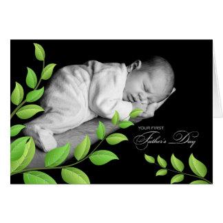 para o pai novo no dia dos pais recém-nascido cartao