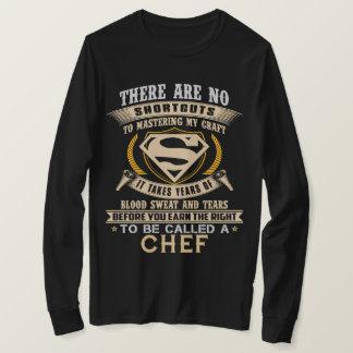 Para para ser chamado um COZINHEIRO CHEFE. Camisa