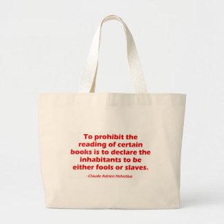 Para proibir a leitura de determinados livros bolsa