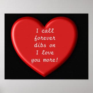 Para sempre amor de Dibs você mais! -- Poster da