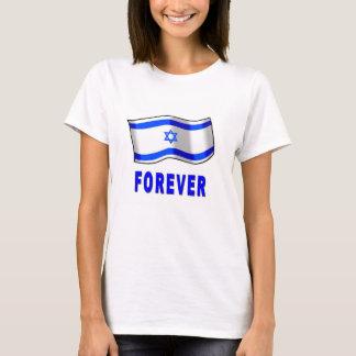 Para sempre camisa da bandeira de Israel