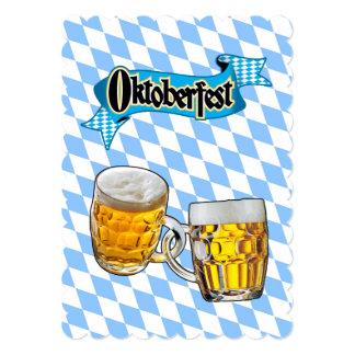 Para sempre convite de festas de Oktoberfest dos