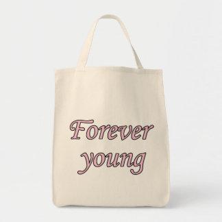 Para sempre jovens bolsa tote