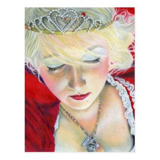 Para sempre princesa Coração Locket Cartão da mina
