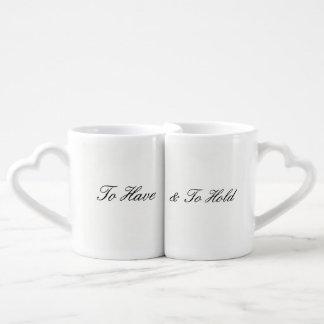 Para ter & manter a caneca de café ajustada