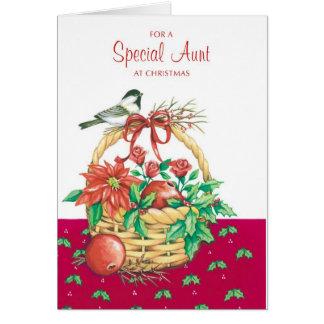 Para uma tia especial cartão comemorativo