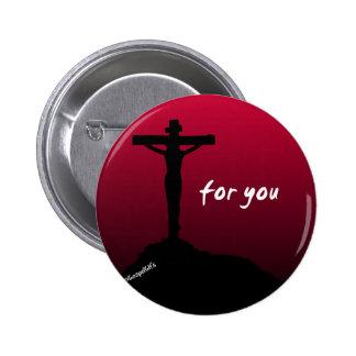 """""""Para você"""" botão cristão Bóton Redondo 5.08cm"""