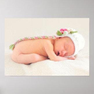 Parabéns do bebé pôster