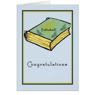 Parabéns em ser cartão publicado