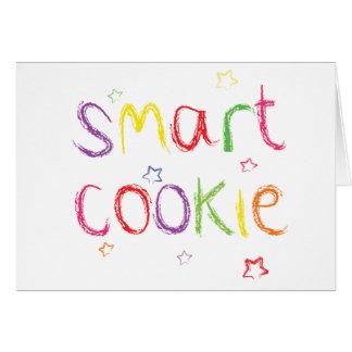Parabéns espertos do biscoito cartão comemorativo