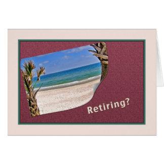 Parabéns na aposentadoria cartão comemorativo