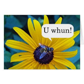 Parabéns no concurso de ortografia de vencimento cartão