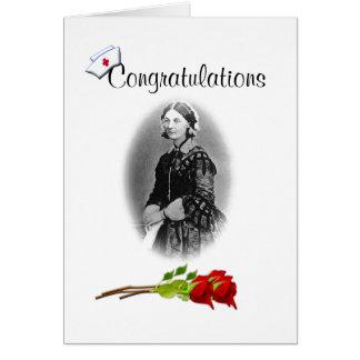 Parabéns no Grau-Humor dos cuidados Cartão Comemorativo