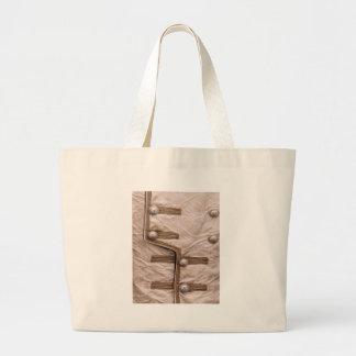 Parada da tira da forma - bordado do botão n bolsa para compras