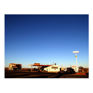 Parada de caminhão de Oklahoma Cartão Postal