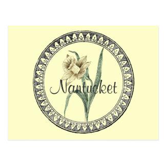 Parada do Daffodil de Nantucket Cartão Postal