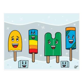 Parada do Popsicle - cartão