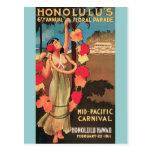 Parada floral anual 1911 de Honolulu, Havaí 6a Cartao Postal