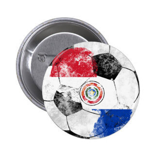 Paraguai afligiu o futebol botons