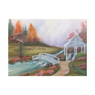 Paraíso Impressão De Canvas Envolvidas